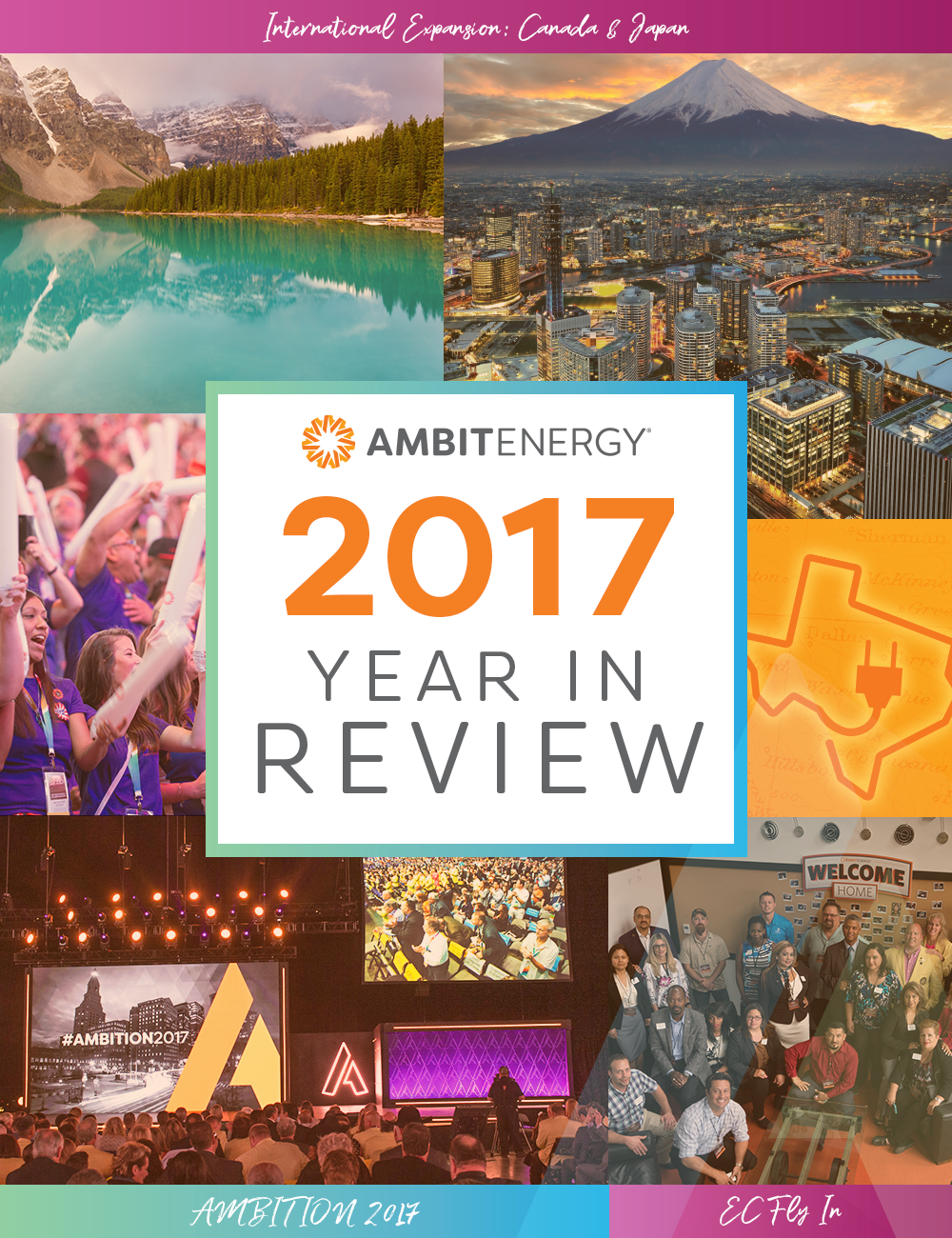 Infographic: 2017: Ambit Energy Year in Review