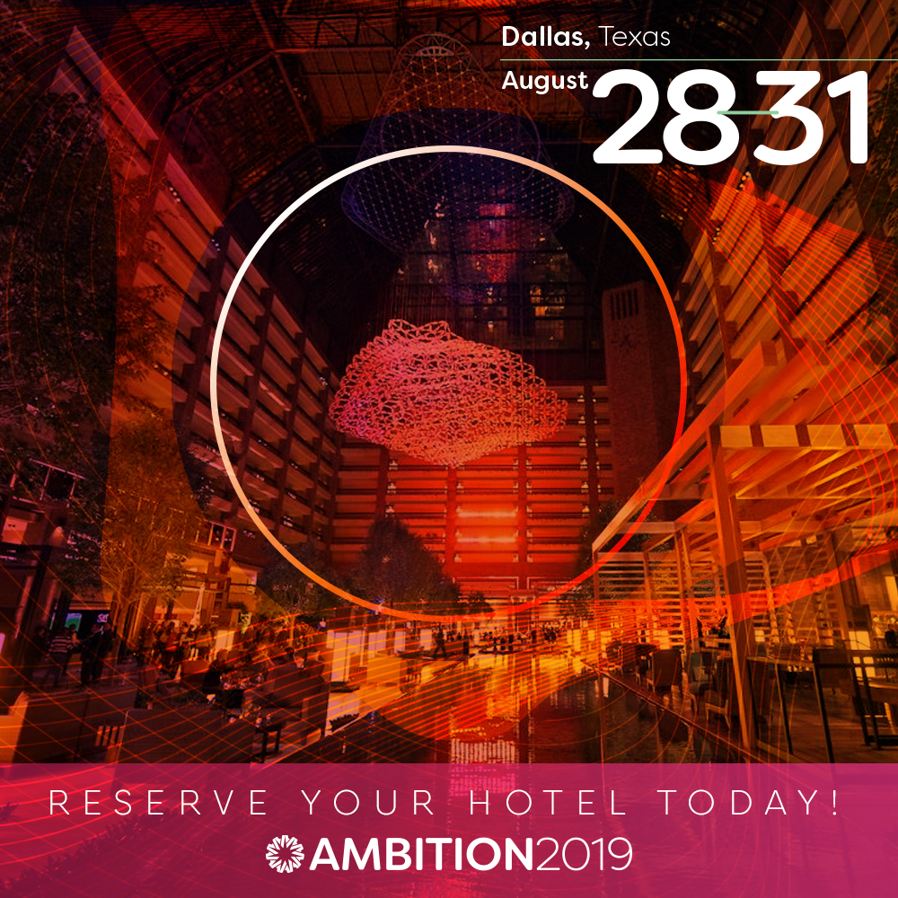 AMBITION: One Great Event, Two Great Hotels