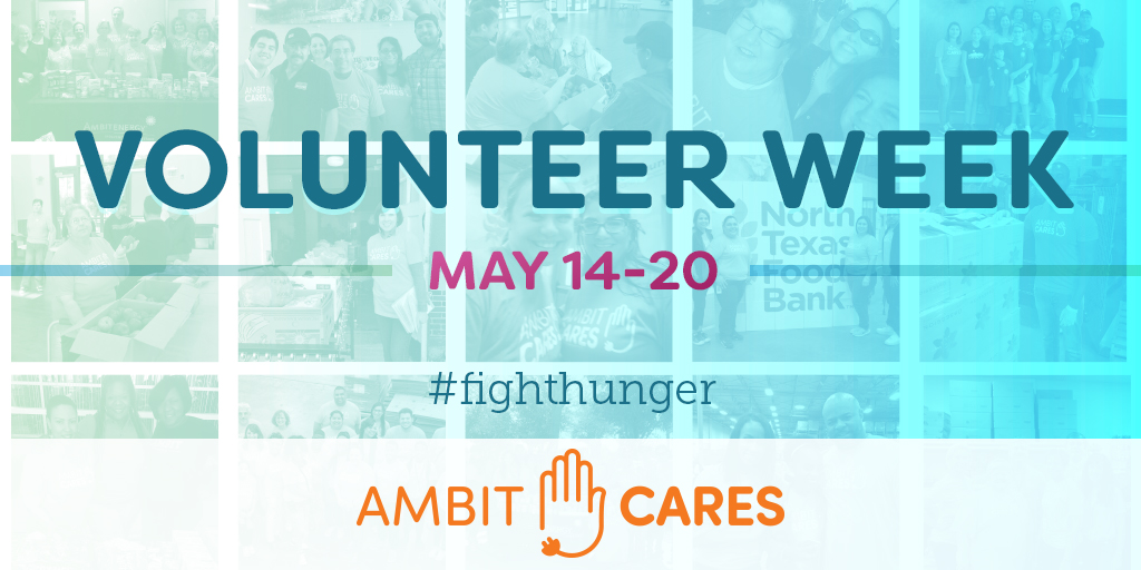 Spring into Ambit Cares Volunteer Week
