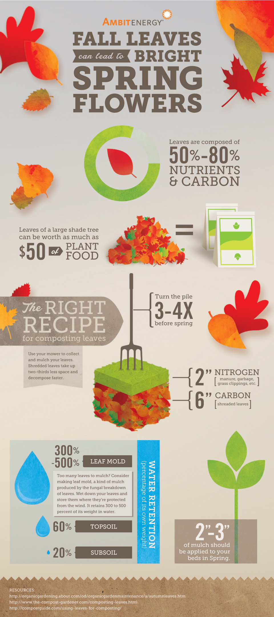 Colorful Fall Leaves Can Lead To Bright Spring Flowers Ambit Energy