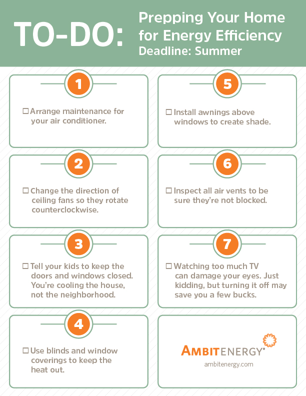 Infographic: Summer Ready Checklist: How to Prepare Your Home
