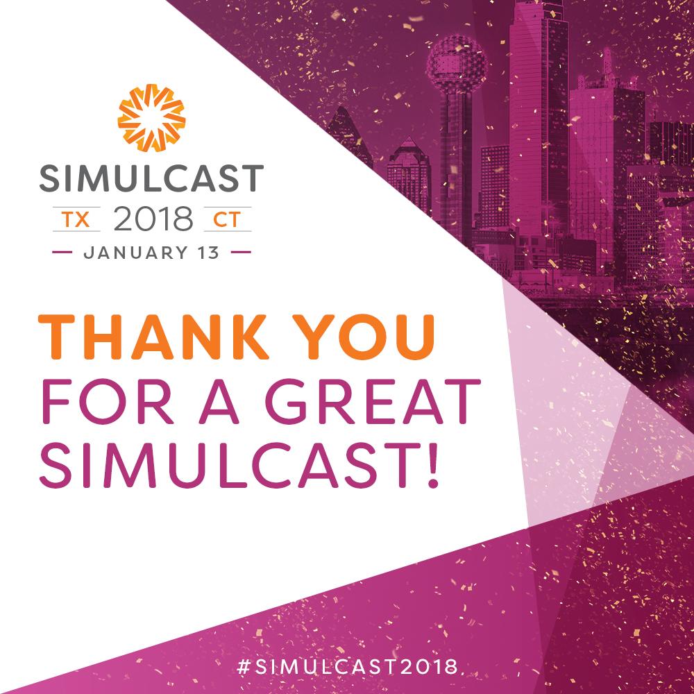 Simulcast 2018 Highlights