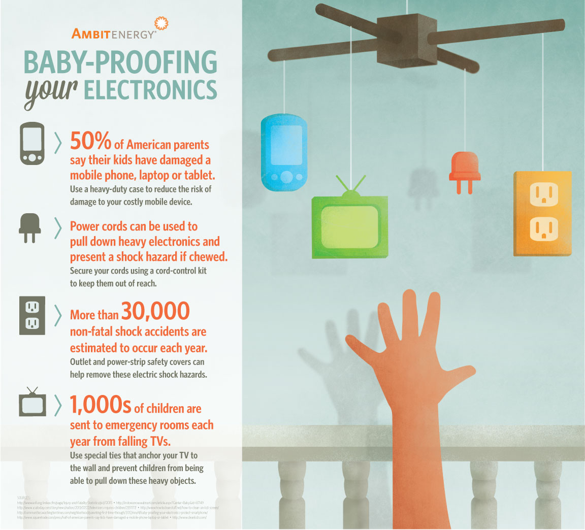 Infographic: Digital Update: How to Baby-Proof Your Electronics