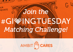 Join Ambit Cares Giving Tuesday Matching Challenge | Ambit Energy