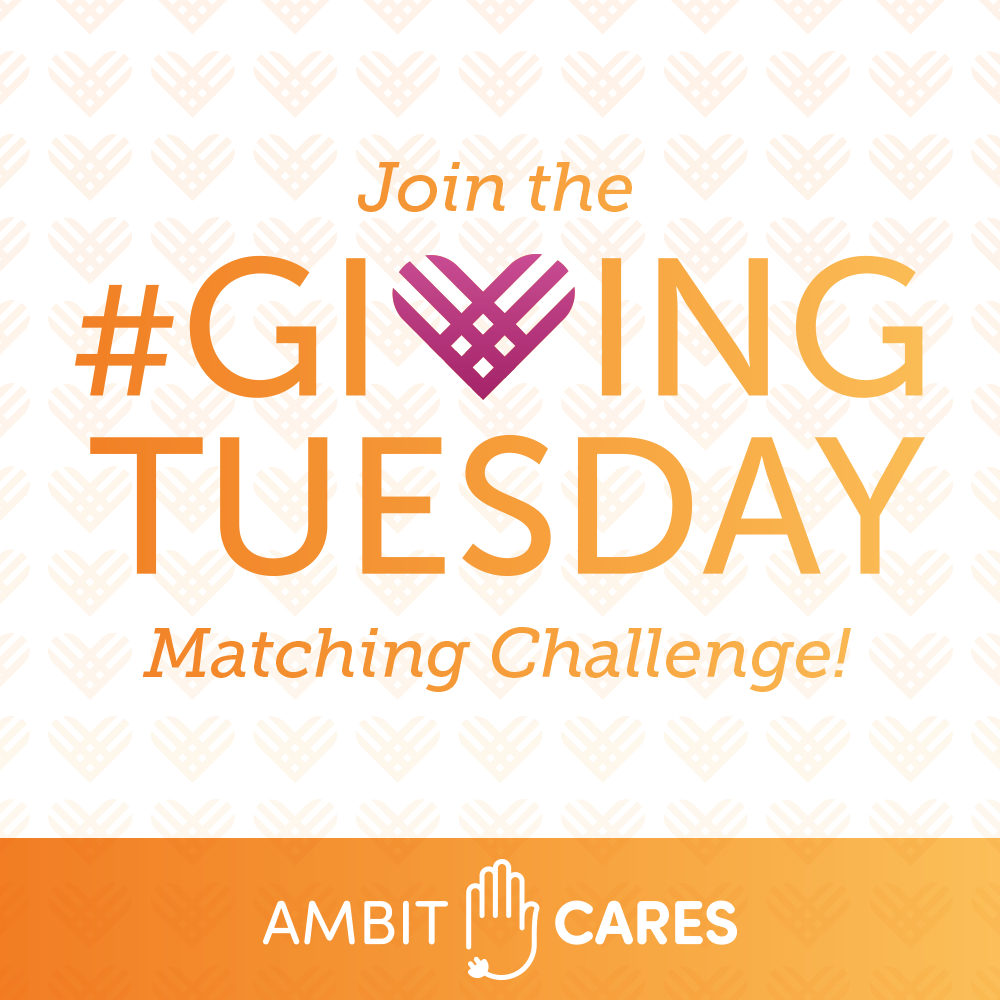 Celebrate Giving Tuesday with Ambit Cares